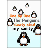 Penguins Fridge Magnet