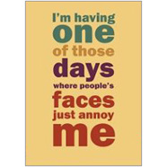 People's Faces  Fridge Magnet