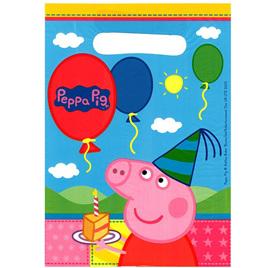 Peppa Pig lootbags x 8