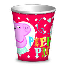 Peppa Pig Party Cups x 8