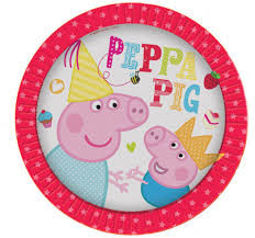 Peppa Pig Party Range