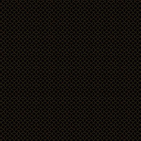 Peppercorn Dotted Interlocking Star Black A-9742-K