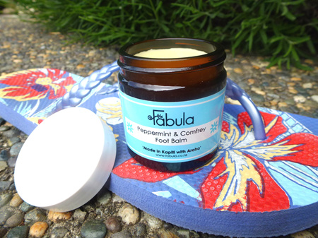 Peppermint and Comfrey Foot Balm