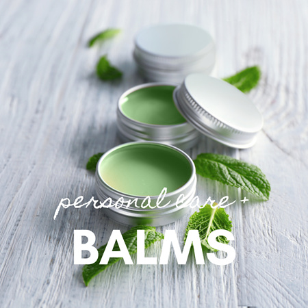 Personal Care + Balms