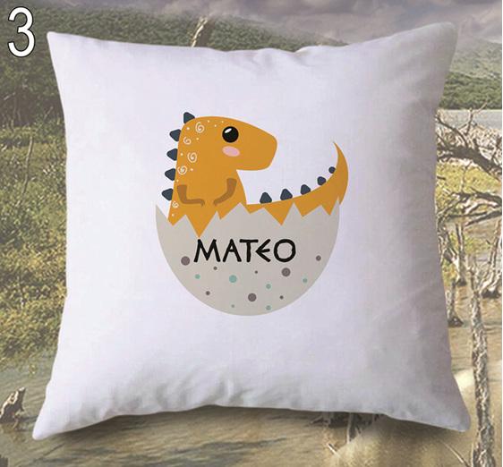 Personalised Dinosaur Egg Cushion