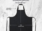Personalised Master Chef Custom Funny Apron
