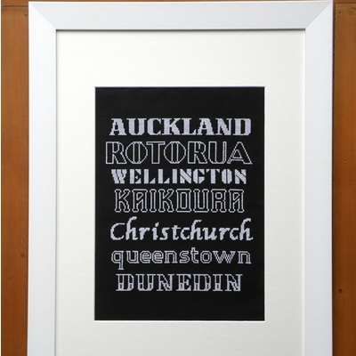 Personalised Place Names - Chart