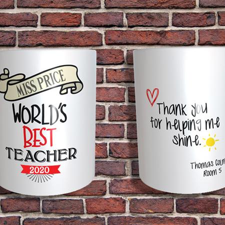 Personalised Teacher's Gift  1 Mug