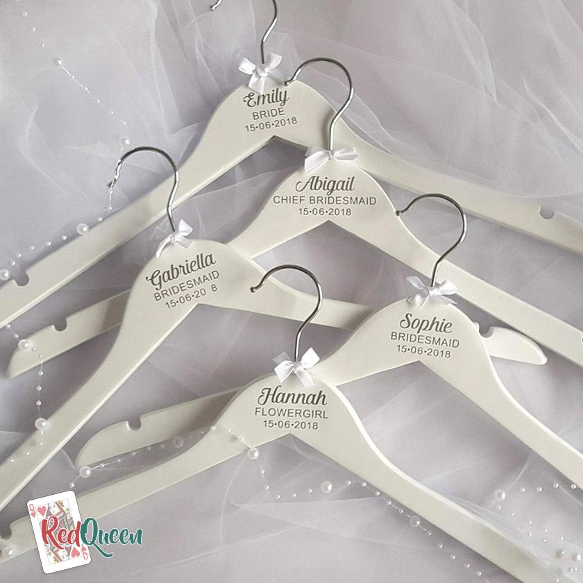 5 Personalised Wedding Hangers