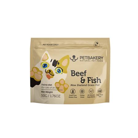 Pet Bakery Beef & Fish Cat Treats