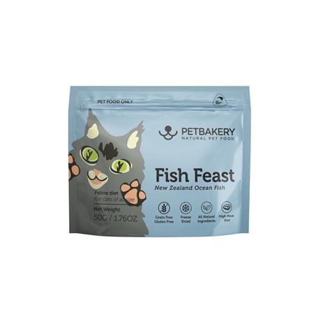 Pet Bakery Fish Feast Cat Treats