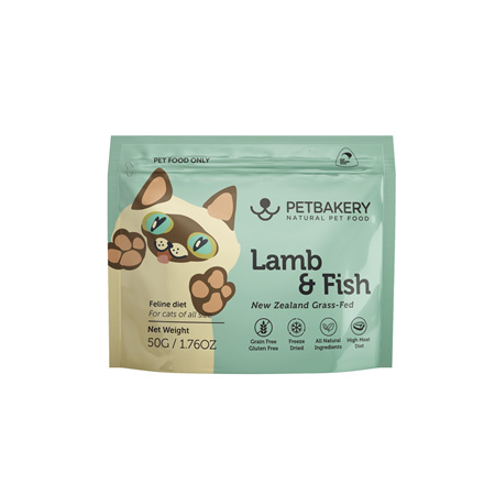 Pet Bakery Lamb & Fish Cat Treats