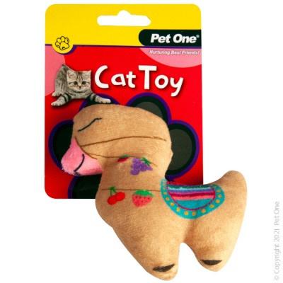 Pet One Cat Toy - Plush Llama
