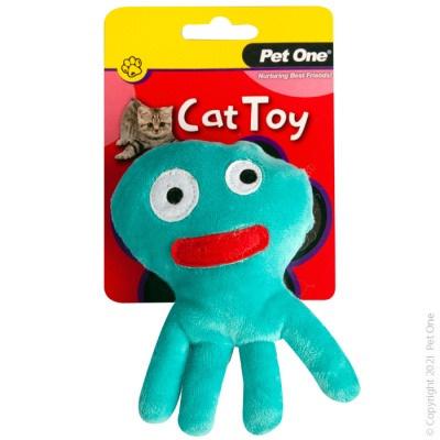 Pet One Cat Toy - Plush Octopus