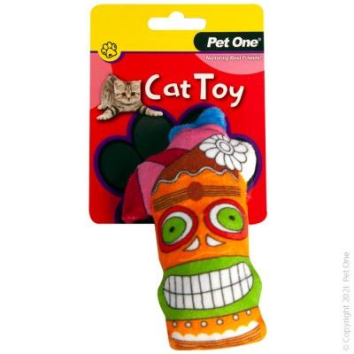 Pet One Cat Toy - Plush Tiki Drink