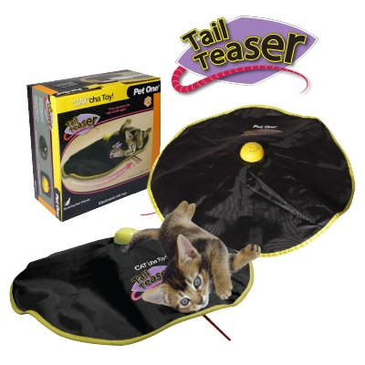 Pet One Cat'cha Cat Toy Tail Teaser