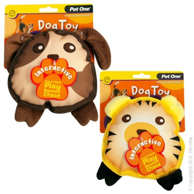 Pet One - Interactive Squeaky Toy