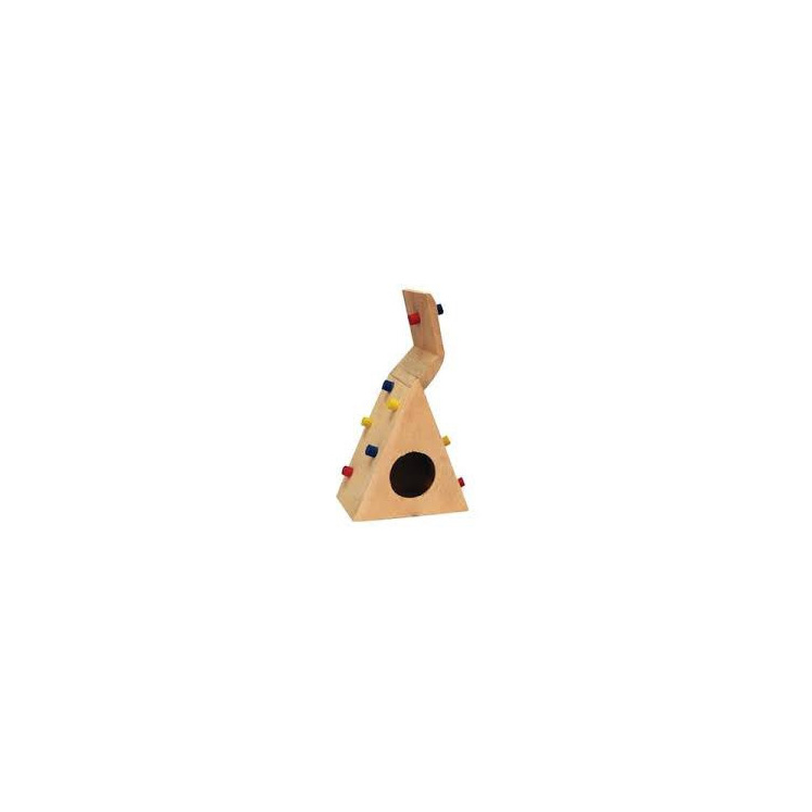 Pet One Mouse Playhouse Climbing Wall