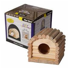 Pet One Mouse Playhouse Cosy Cabin