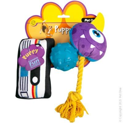 Pet One - Puppy Fun Pack (3 piece set)