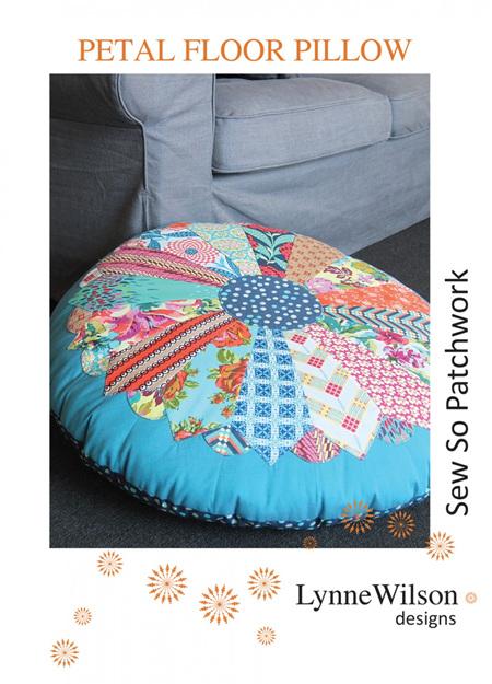 Petal Floor Pillow Pattern