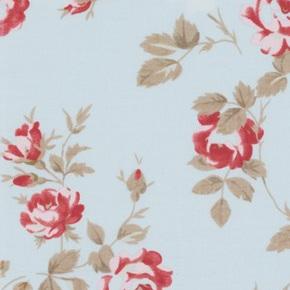 Petal - Scattered Roses - Blue