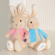 PETER or FLOPSY BUNNY SILKY RATTLES