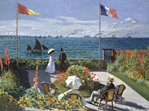 Peter Pauper 1000 Piece  Jigsaw  Puzzle: Garden At Sainte Adresse