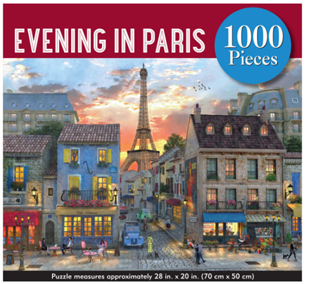 Peter Pauper Press 1000 Piece Jigsaw Puzzle: An Evening In Paris