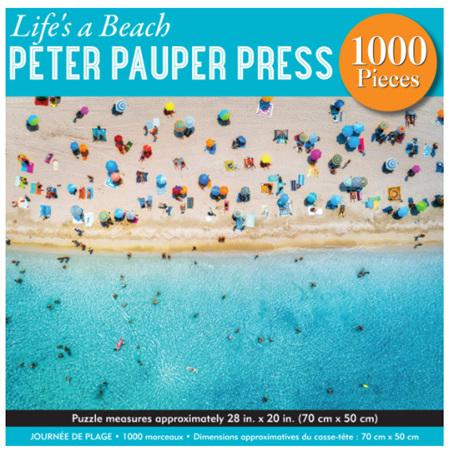 Peter Pauper Press 1000 Piece Jigsaw Puzzle: Life's A Beach