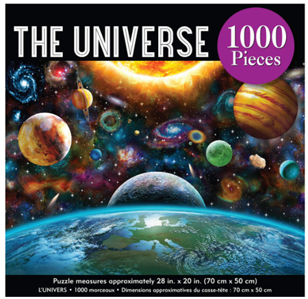 Peter Pauper Press 1000 Piece Jigsaw Puzzle: The Universe