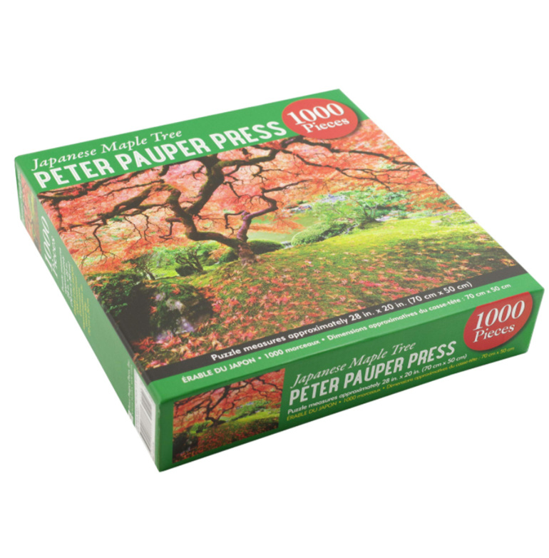 Peter Pauper Press 1000 Piece Puzzle Japanese Maple at www.puzzlesnz.co.nz