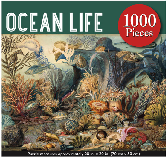 Peter Pauper Press 1000 Piece Puzzle Ocean Life at www.puzzlesnz.co.nz