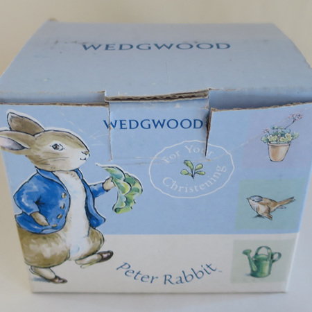 Peter Rabbit Christening mug