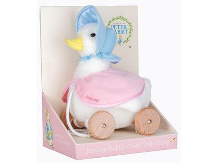 Peter Rabbit Jemima Puddle-Duck pull along