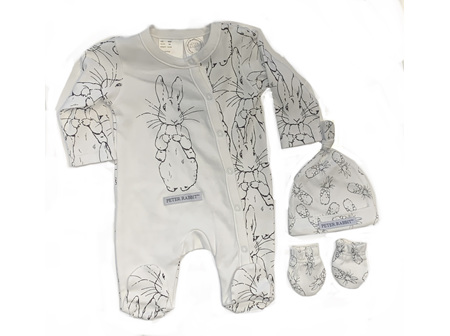 Peter Rabbit Jumpsuit - Peter Print
