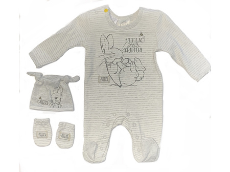 Peter Rabbit Jumpsuit - Sleepy little bunny