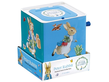 Peter Rabbit Musical Jack In The Box