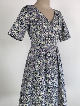 Petite floral Melba dress