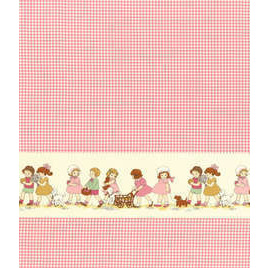 Petite Marianne Pink - Double Border