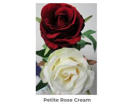 Petite Rose Cream 58cm