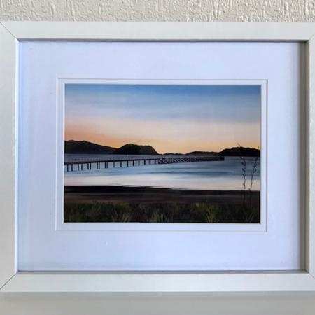 Petone Sunset - medium frame