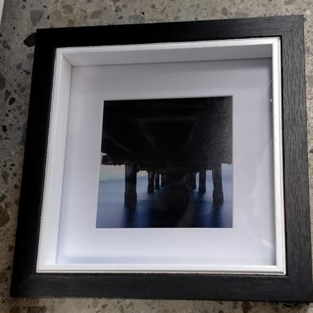 Petone Wharf - Framed Photograph - 18.2 x 18.2cm