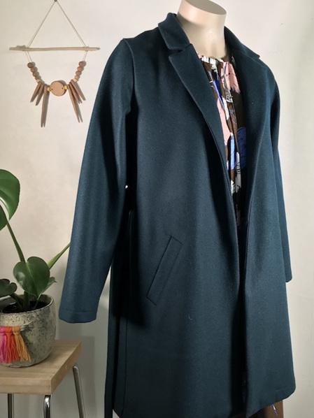 Petrol Aurora coat