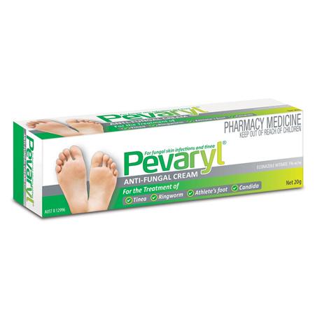 Pevaryl 1% Anti-Fungal Cream 20g