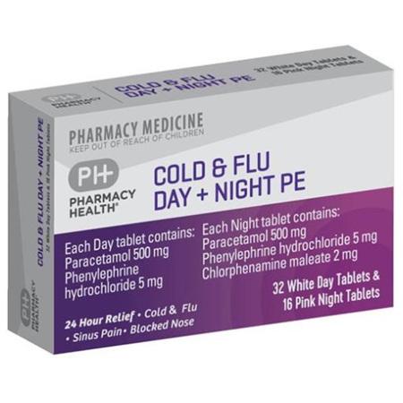 PH COLD&FLU DAY&NIGHT PE 48TAB