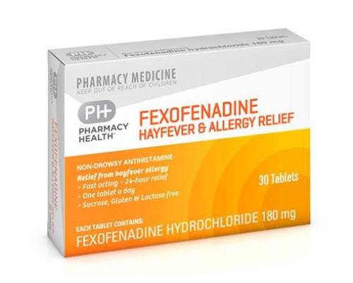 PH FEXOFENADINE HAYFEVER & ALLERGY 30Tab