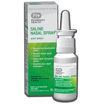 PH SALINE NASAL SPRAY 75ML