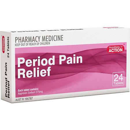 PHARM ACT PERIOD PAIN RLF 24 S