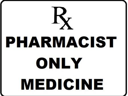 Pharmacist Only Medicine